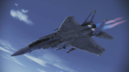 F-15C Eagle Flyby