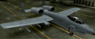 A-10A Mercenary color hangar