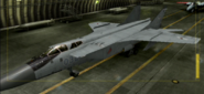 MiG-31 Standard color hangar