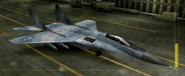MiG-29A Special color hangar