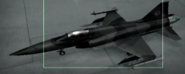 F-20A Razgriz color Hangar