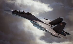 Ace Combat 7 Announcement Su-30M Side
