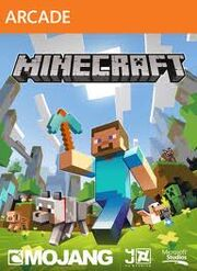 Minecraft Xbox 360 Edition Cover Art
