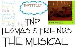 TNPTTTE&F TNP Thomas & Friends The Musical Poster