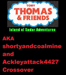 Tomy Thomas & Friends Crossover Logo