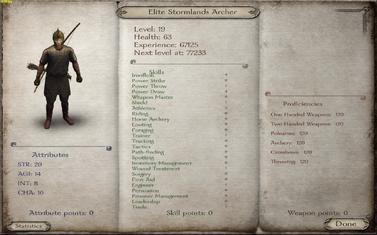 Elite Stormlands Archer
