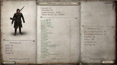 Rt3 veteran archer