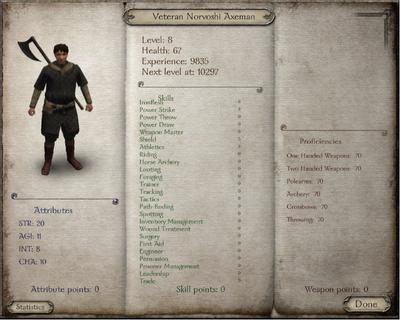 Veteran Norvoshi Axeman