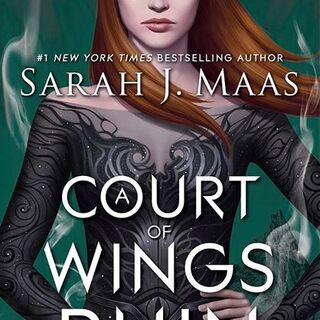 American cover for <i>A Court of Wings and Ruin</i>