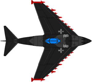 Heinkel 270 Blitz Seitschritt