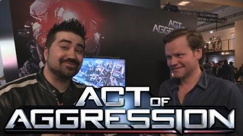 Act of Aggression Angry Interview