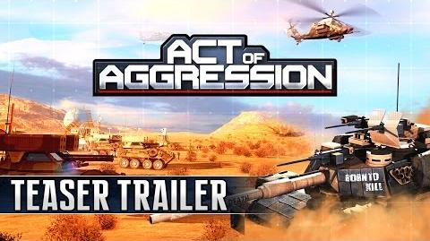 ACT OF AGGRESSION TEASER TRAILER