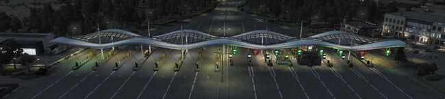 AoA Ingame Highway Toll Gate