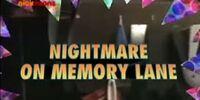 Nightmare on Memory Lane