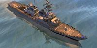 DDG Arleigh Burke class destroyer