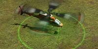 Mercenary helicopter