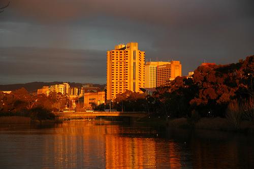 File:Sunset over (R)adelaide.jpg