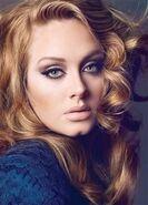 Adele Vogue UK Rare Image