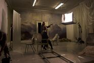 Making of Rolling in the Deep music video 6