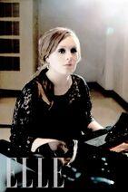 Adele (Piano) Elle 2009