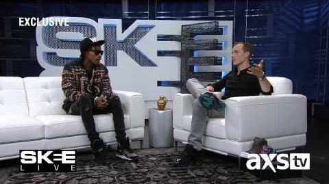 "Wiz Khalifa Talks Forthcoming Album ""Blacc Hollywood"" and Working with Adele on SKEE Live!"