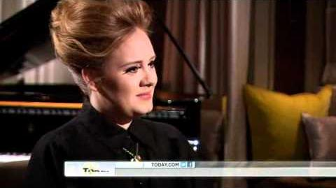 ADELE 'ALL I'VE EVER WANTED TO DO WAS SING - TODAY SHOW - NBC