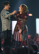 Mark Ronson and Adele Brits 2016