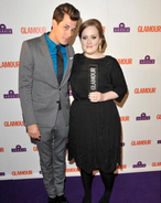 Adele and Mark Ronson Glamour 2