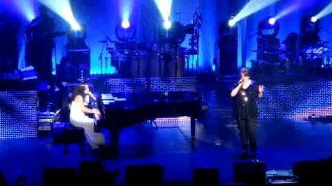 Alicia and Adele