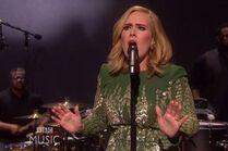 Adele at the BBC Hello