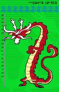 Dragon Grandpa's preliminary art