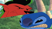 Stitch and Jake showdown