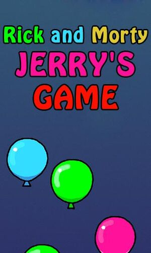 1 rick and morty jerrys game