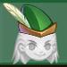 Robin felt hat