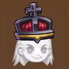 Black king crown