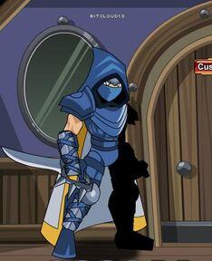 Crusader cloak