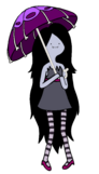 Marceline with her umbrella by pandaseatingcupcakes-d3el34v