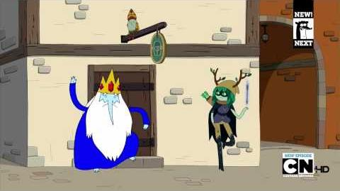 Huntress wizard (Adventure Time clip)