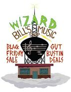 Wizard bill's shop