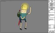 Cave Digger Finn modelsheet