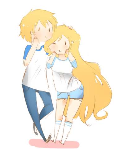 File:Fionna and finn by splicedlamia-d4pg4yy.png
