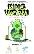King Worm Promo Art
