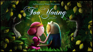 Too Young Title Card