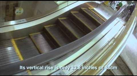 The World's Shortest Escalator