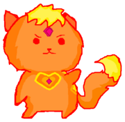 Flame Princess Kitty