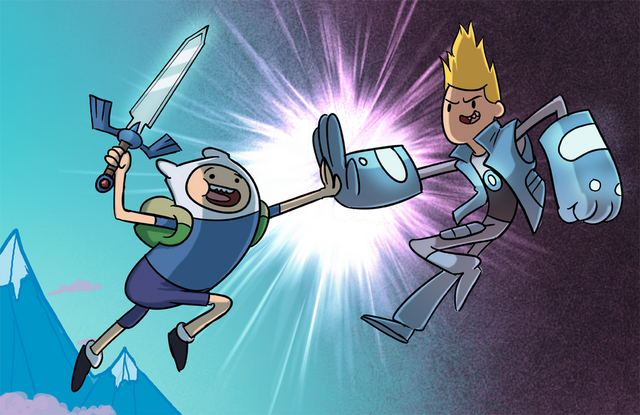 File:Finn and chris by stevenraybrown-d5rbier.png