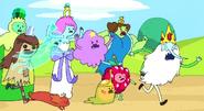 S2e3 Princesses chasing Ice King