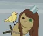 FS e3 Ragged with bird