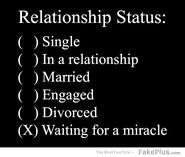 Forever alone relationship sad status