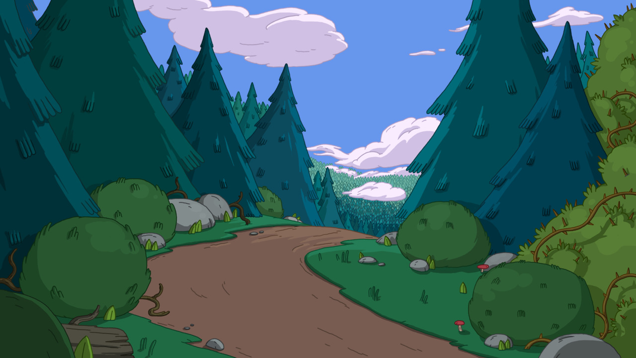 Image result for adventure time woods
